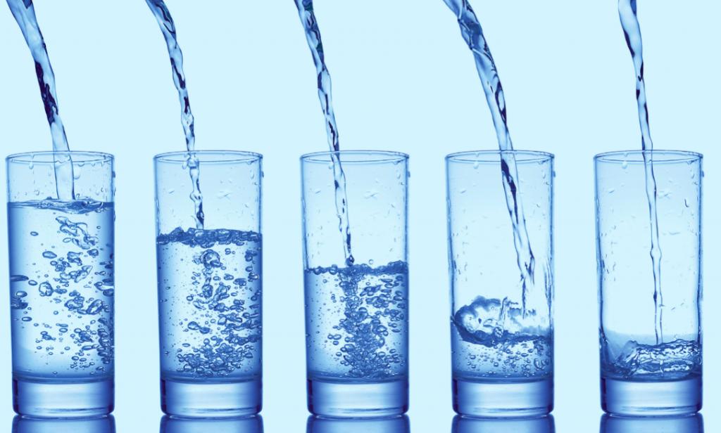 deionised water