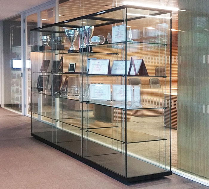 display showcase singapore